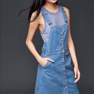 Gap Denim Overall Dress